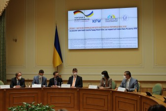 Прес-конференція щодо старту проєкту «Житлові приміщення для ВПО»